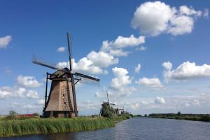 Molinos de Kinderdijk, Países Bajos