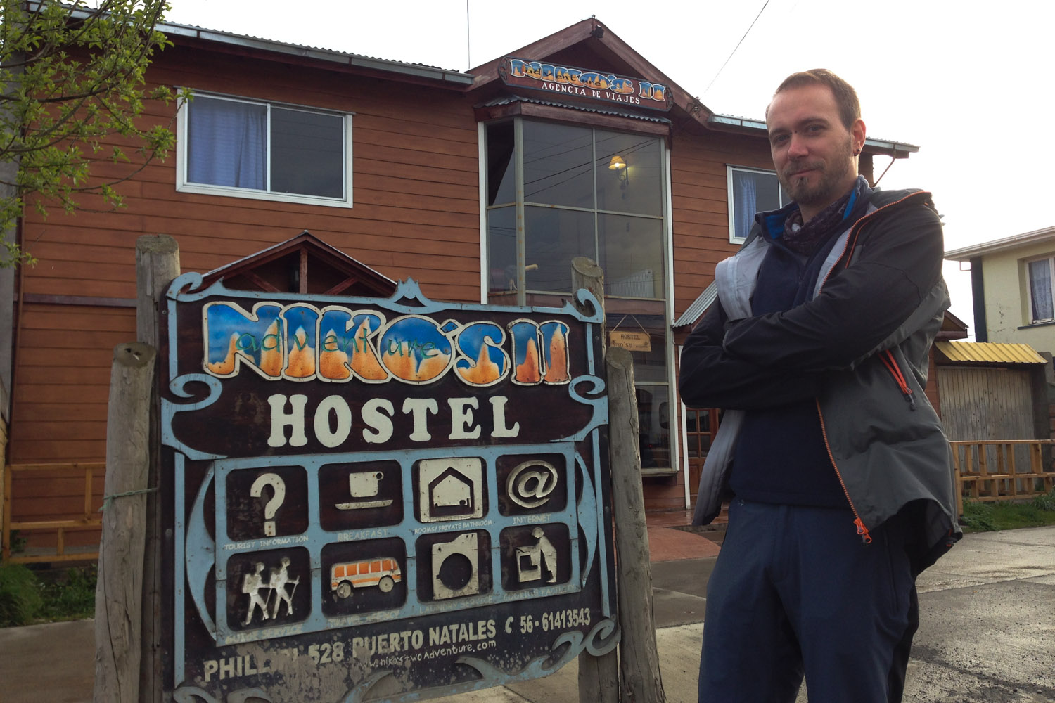 El hostal Niko's II Adventure