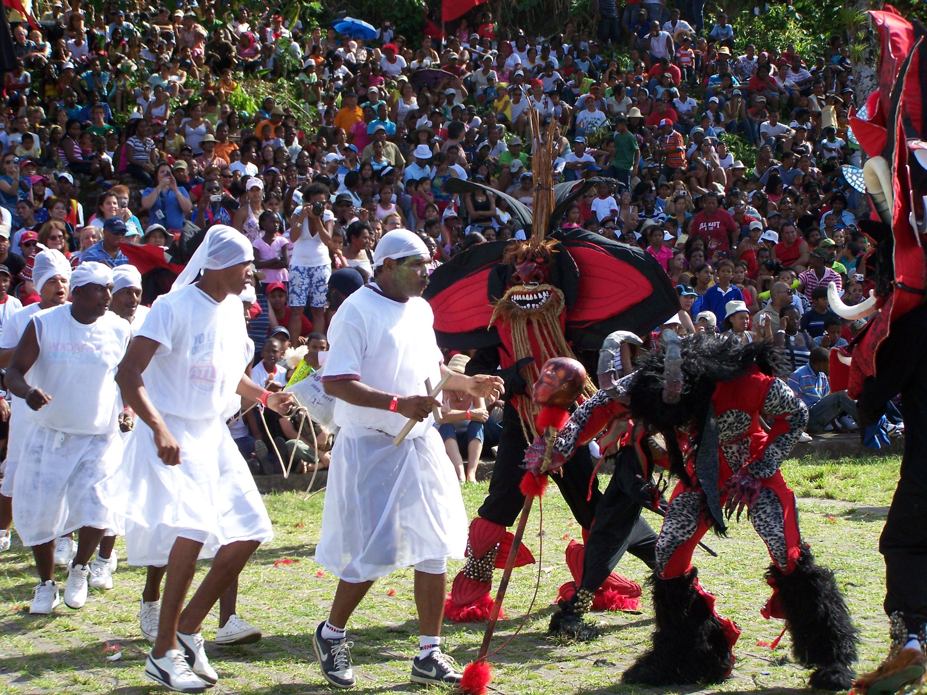 Festival de Diablos y Congos en Portobelo, Panamá