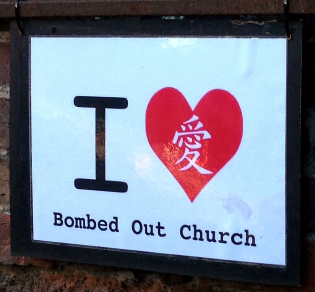 I love the Bombed out Church