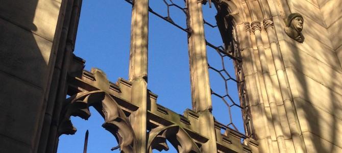 La iglesia bombardeada de Liverpool