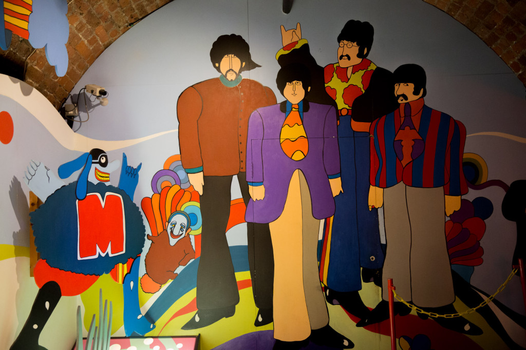 Los Beatles para Yellow Submarine