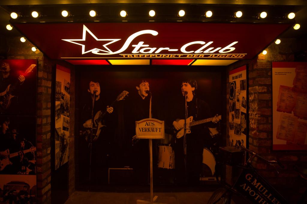 Star Club en Hamburgo, uno de los clubes donde Los Beatles empezaron a forjarse una reputación