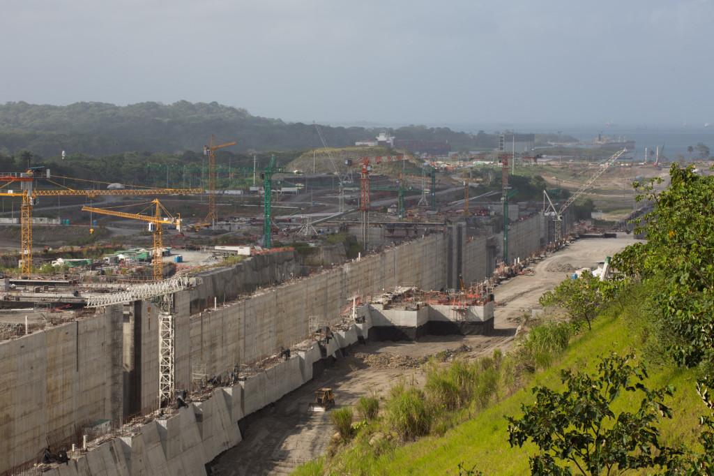 Centro de Observación de la Ampliación del Canal, enero 2014