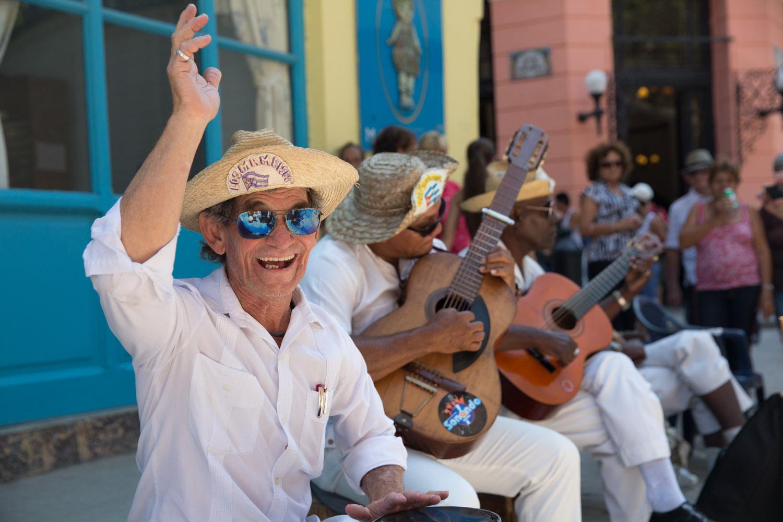 Músicos en La Habana Vieja, Cuba