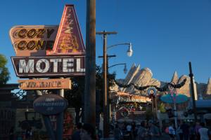 Cars Land en Disneyland, Anaheim, EE.UU.