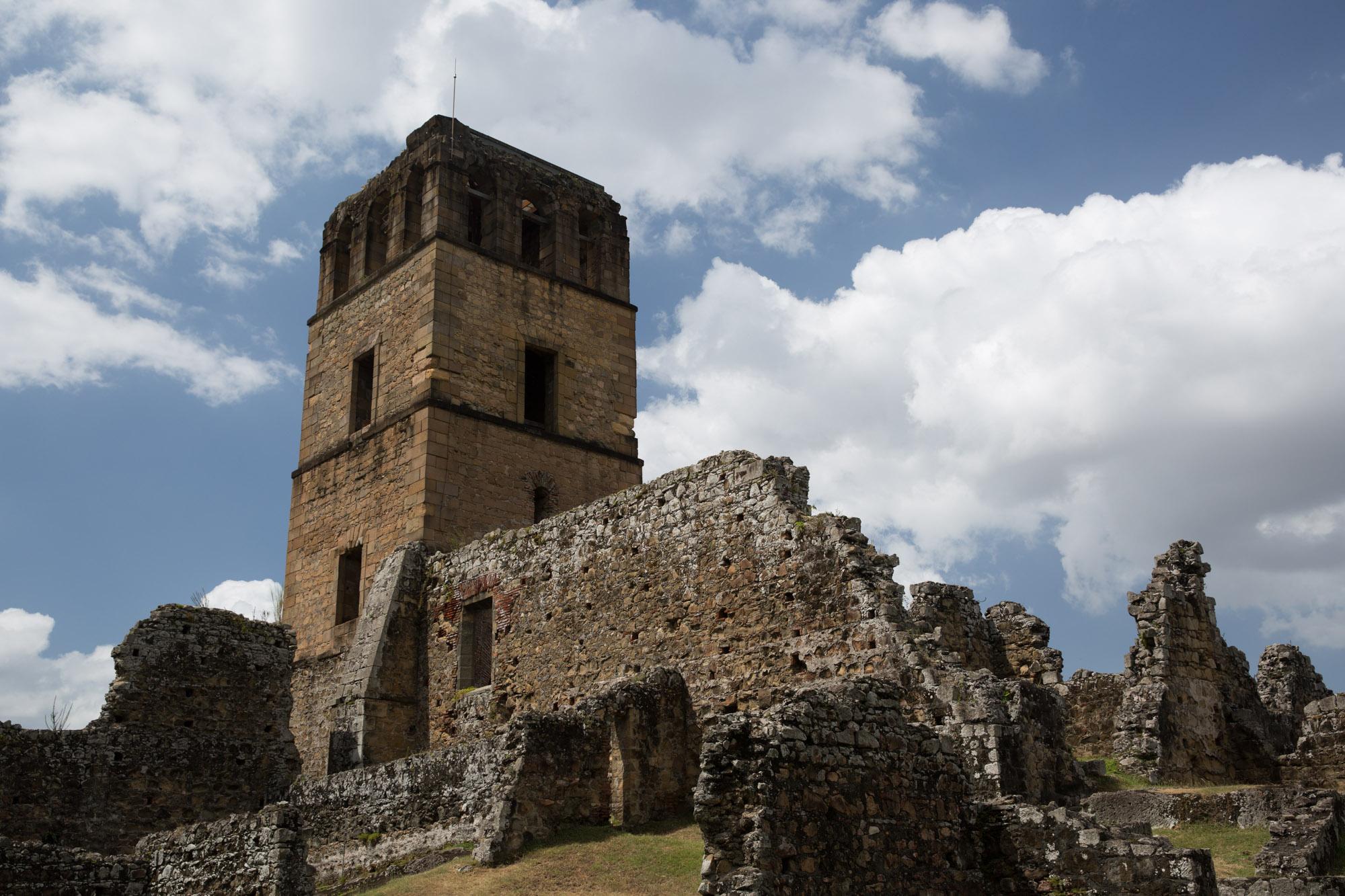 Ruinas de la catedral de Panamá Viejo