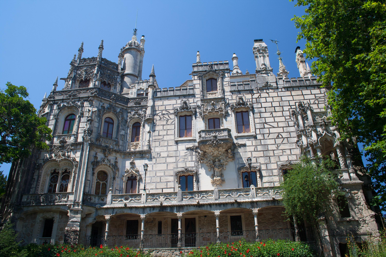 La fachada del Palacio da Regaleira