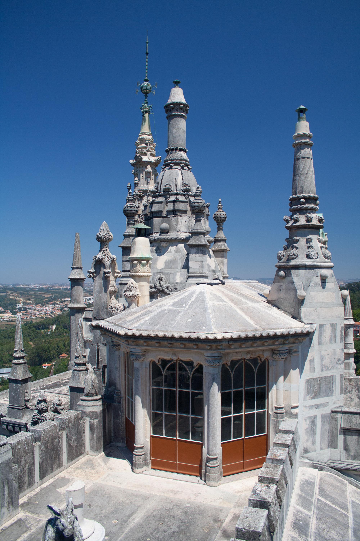 Vista desde la terraza de la torre octogonal del palacete