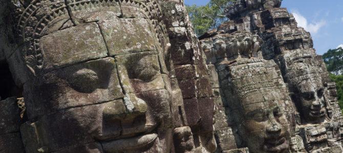 Los rostros de piedra de Bayon