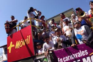 Murga en carnavales en Las Tablas