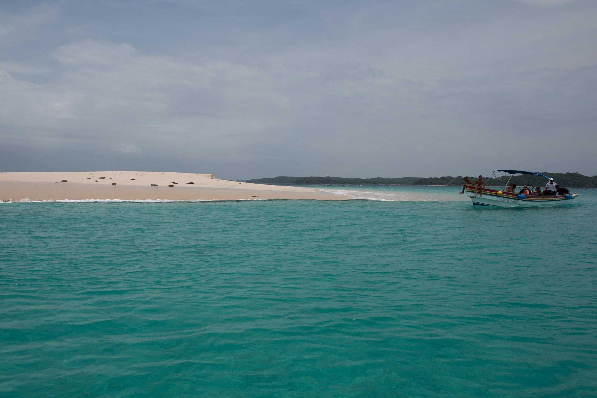 Islote en el archipiélago de Las Perlas, Panamá